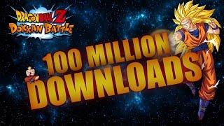 Dragon Ball Z Dokkan Battle - 100 Million Downloads Event[SUPER VEGITO HYPE]
