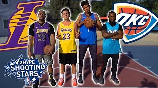 2Hype *NEW RULES* NBA Shooting Stars Basketball Challenge!