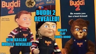 Child's Play Remake News - NEW Buddi 2 Dolls Revealed! Chucky Comic AudioBook & More!