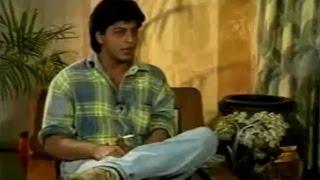 ➥ ➥ Shah Rukh Khan Interview By Rajiv Shukla   Shah Rukh Khan Old Interview