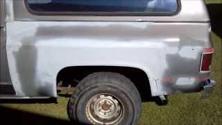 K5 Blazer Restoration