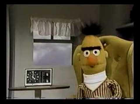 Sesame Street Ernie & Bert Ernie leads a band