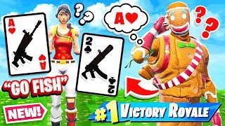 GO FISH Card Game *NEW* Game Mode Fortnite Battle Royale