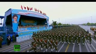 Annual Army Day parade in Iran