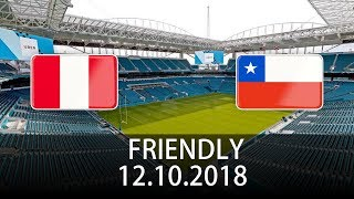 Peru vs Chile - International Friendly - PES 2019