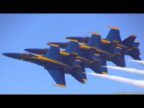 watch 2014 U.S.N. Blue Angels @ LA County Air Show