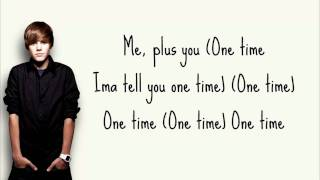 One Time - Justin Bieber + Lyrics ( My World Studio Version )