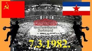 Handball гандбол  SSSR JUGOSLAVIJA finale 1982. World Cup