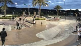 Santa Clarita CA Skatepark (4k)