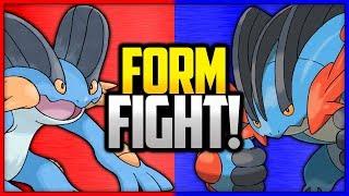 Swampert vs Mega Swampert | Pokémon Form Fight