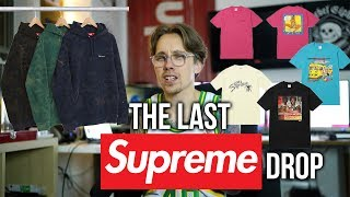 SUPREME DROPS TOMORROW | THE LAST SUPREME DROP feat. Wilfred Limonious Collab