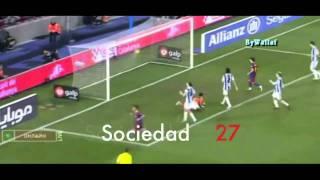 Lionel Messi 52 Goals  (3 minutes) /  ميسي 52 جون ف 3 دقايق
