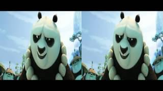 Kung Fu Panda 3 Movie Trailer #2 2016   Dreamworks Animation HD 3dSBS/VR/Cardboard