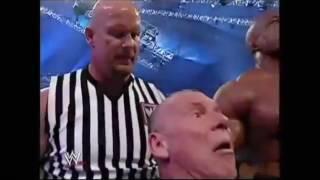 Donald Trump Bodyslams, Beats & Shaves Vince McMahon at Wrestlemania XXİ