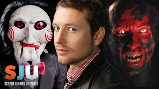 Scariest Horror Villains of All Time? Insidious/SAW creator Leigh Whannell! - SJU