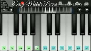 Bol Do Na Zara (Azahar) | Piano Tutorial | Armaan malik | Mobile Perfect Piano