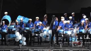 FLOW COMMANCHEROS PERFORMING DANCE BY INSPECTOR AT GRENADA'S PANORAMA FINALS 2016