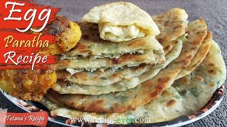 Egg Paratha Recipe | Bengali Food recipe | How to make Egg Paratha? Dim Paratha