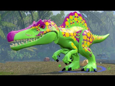 LEGO Jurassic World A look at the Custom Dinosaur Creator & Dinosaur Gameplay