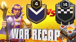 [Queen Walk] vs [ECUADOR] - War Recap TH11 Attacks