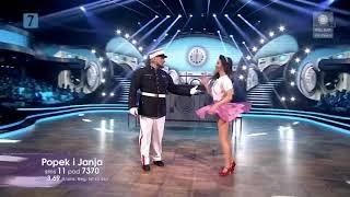 Dancing With The Stars. Taniec z gwiazdami 8 - Półfinał - Popek i Janja