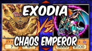 Yugioh EXODIA vs CHAOS EMPEROR DRAGON (Yu-gi-oh God Card Deck Duel!)