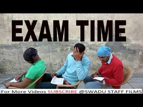 Exam time || Haryanvi in exams || A video by Swadu Staff Films