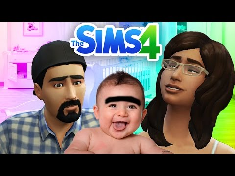 ROLANDA HAS A BABY The Sims 4 Part 10