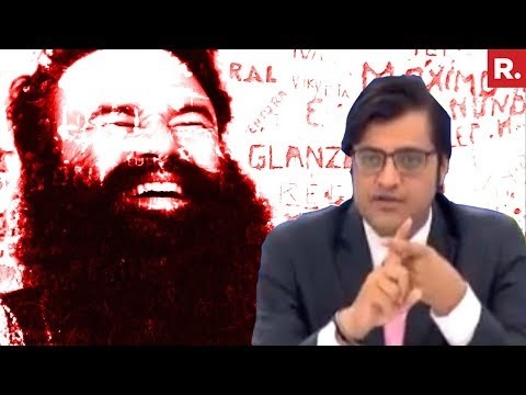 Arnab Goswami Reacts On Ram Rahim's Jail Sentence
