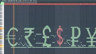 What Money Sounds Like (MIDI Art)