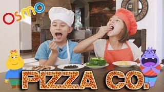 PIZZA TOPPING CHALLENGE!!! Fun with OSMO PIZZA CO. Interactive Game!