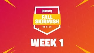 Fortnite Fall Skirmish - Week 1 | HOLD THE THRONE (DUOS)