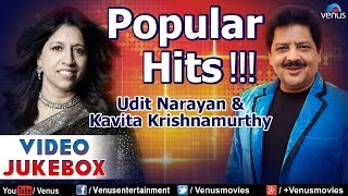 Popular Hits : Udit Narayan & Kavita Krishnamurthy ~ Best Hindi Songs || Video Jukebox