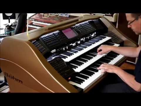 Dr. Schiwago Lara s theme James Last version played on Böhm Emporio 600 organ