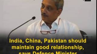 India, China, Pakistan should maintain good relationship, says Defence Minister - ANI #News