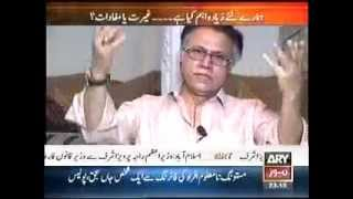 Hassan Nisar excellent approach 1.