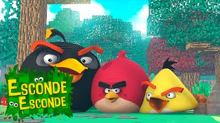 Minecraft: ANGRY BIRDS - O FILME! (Esconde-Esconde)