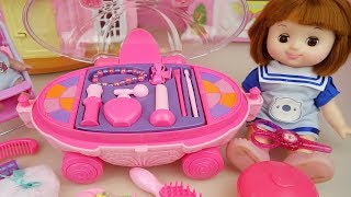 Baby doll beauty car hair shop toys baby doli play