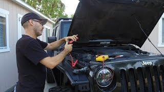 Battery Jump Starter Test - Will It Crank My Dead Jeep ? Suaoki P6 and Power Generator Review