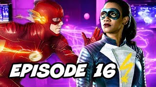 The Flash 4x16 Iris West Flash Episode - TOP 10 WTF and Easter Eggs