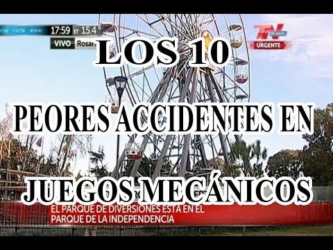 Los 10 peores accidentes en juegos mecánicos Loquendo