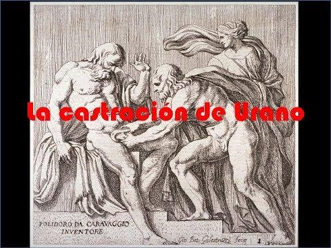 Teogonía Canto VII La Castración de Urano & El Nacimiento de Afrodita