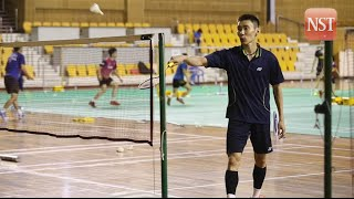 Lee Chong Wei first official training
