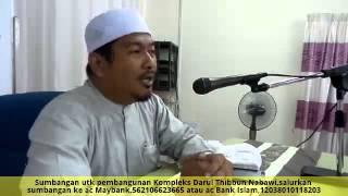 [16.12.14] Tafsir Surah An-Nisa,ayat 1-Ustaz Ahmad Dusuki
