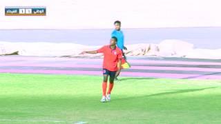 ملخص مباراة الوطني الفيحاء الجولة 28