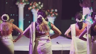 Best Surprise Dance for GROOM by BRIDE and Cousins (Soby+Ponnu)