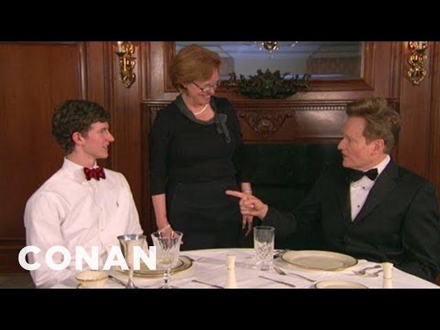 Conan Enrolls In Southern Charm School - CONAN on TBS