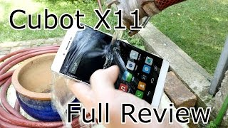 Cubot X11 Full Review - The best and slimmest IP-65 waterproof Sony Xperia Clone ! [4K]