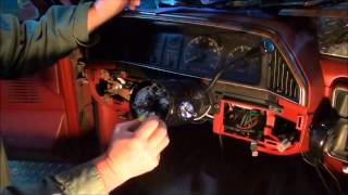 Replace turn signal switch on 87-91 Ford truck
