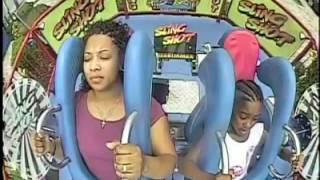 Mom And Daughter Take A MEMORABLE Slingshot RIDE